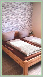 Photo for Non-smoking quadruple rooms with double bed and bunk bed - Gästehaus Claudia