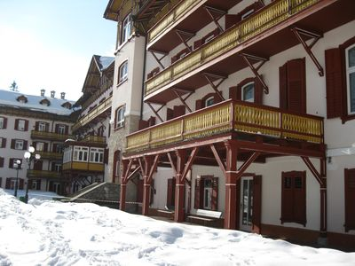 Photo for Rent apartment in residence Cortina d'Ampezzo Dolomites