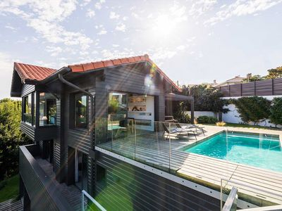 Photo for Keyweek Contemporary Villa with Pool, Fireplace, Ocean Views in Biarritz