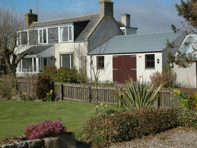 Photo for The Old Croft, 50 yards from Brora Golf Course and 2 minutes from the Beach