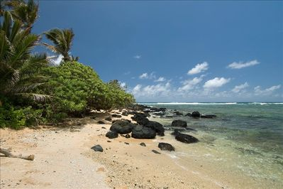 Your own private cove on this secluded beach