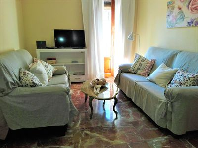 Photo for Comfortable apartment in the historical center, next to parking