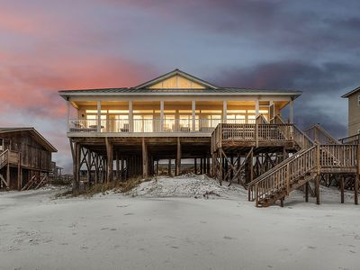 Photo for Gorgeous Gulf-Front Vacation Home in Dune Allen Beach w/ Spectacular Views!
