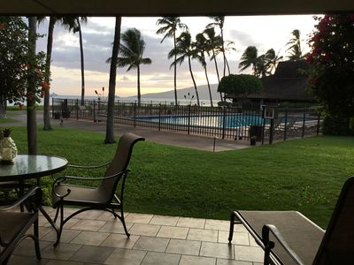 Photo for Fantastic Oceanfront Condo, 1BR Ground Floor, Starts @ $230 ~ Maalaea Surf E3