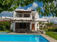 Luxury on a desert island is had at Villa Muse in Pitsidia.