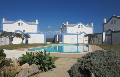 Photo for 3 Bed Villa with roof terrace communal swimming pool and fabulous views!