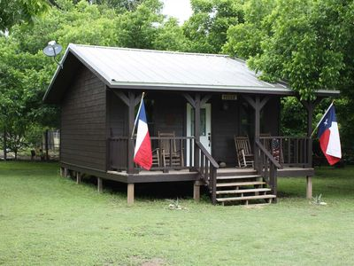 Photo for Double U Barr Ranch Texan Cabin