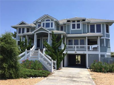 Photo for #CL203: Reduced Rates! OCEANFRONT in Corolla w/Hot Tub, Com.Pool, Elev. & RecRm