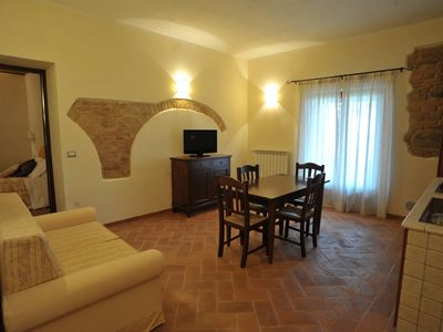 "Photo for ""Country House"" Assisi Apt. 3 with ground floor pool for 4 people"