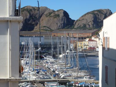 Photo for 3 rooms on the port of La Ciotat