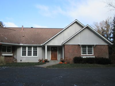 Charming 5-BR home is secluded on 11.6 acres. 2 min to Orono, 7 min to Wayzata