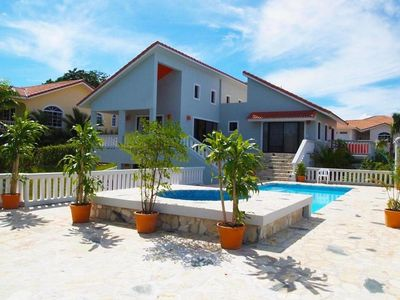 Photo for Modern Luxury 4BR Sosua Villa, Ocean View, Pool, Jacuzzi, Walk To Beaches, Town