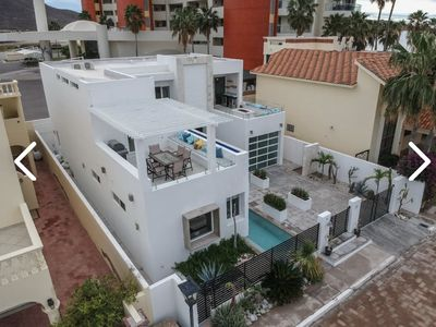 Photo for Designer Modern House!Steps from the Beach! Huge Rooms! Private Pool! Must see!