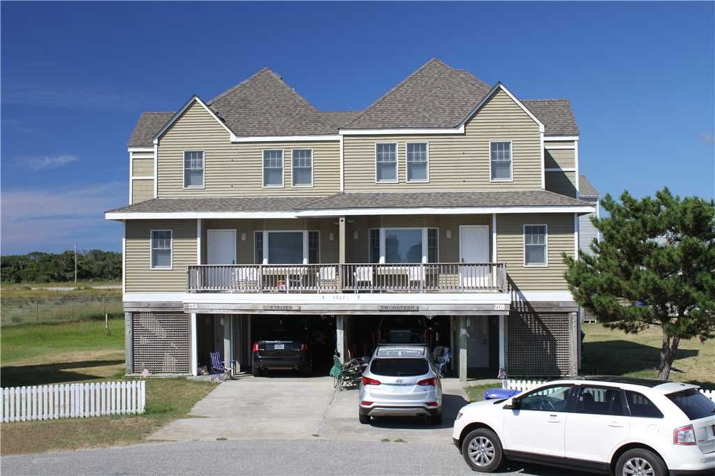 Oceanview in buxton w elevator petfriendly vrbo for Hatteras cabins rentals
