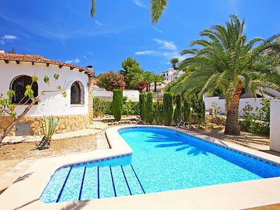 Photo for 2 bedroom Villa, sleeps 4 in Paratella with Pool