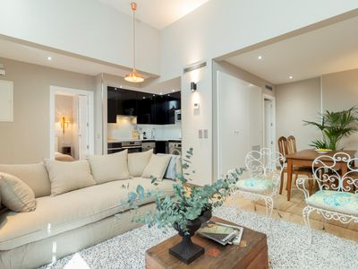 Photo for Madrid Río, new and modern apartment. Very bright and quiet. Wifi and AC.