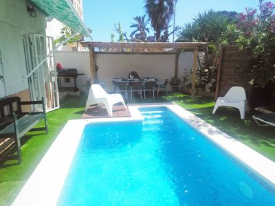 Photo for SPAIN. Cambrils beautiful villa with private pool for 8/10 people at 50m sea