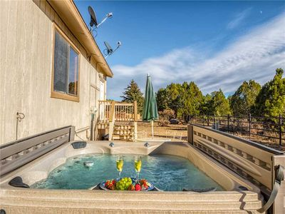 Soothe Your Muscles After a Long Day - Soak up the Land of Enchantment in your private, secluded hot tub!
