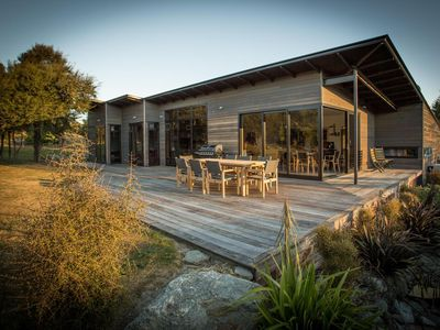 Photo for Luxury living in a divine and tranquil setting overlooking Lake Wanaka