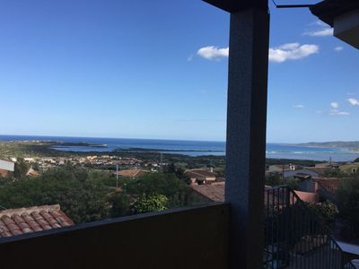 Photo for Fantastic seaview, 2 rooms, very close to the most beautiful beaches of sardinia , also on the bike!