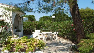 Photo for Villa at Rosa Marina with Garden, long clear and sandy beaches in Ostuni, Italy