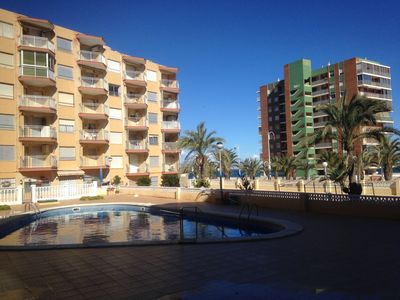 Photo for Apartment in 1st line of the beach in Arenales