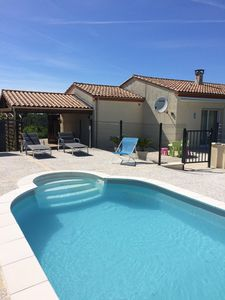 Photo for Charming house comfortable for young and old with private heated pool