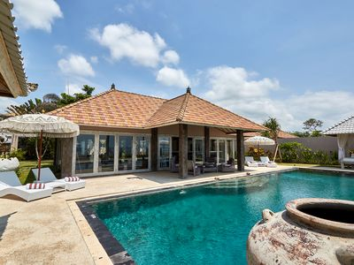 Photo for Beachfront Villa 4 Bedroom with Private Pool  Sunrise