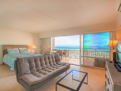 Photo for 14th floor 1BR at Ilikai Hotel! Only steps to World famous Waikiki beach!