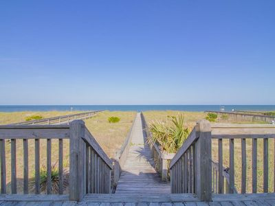 Photo for Ocean Mist; beautiful views from the back deck of the ocean.
