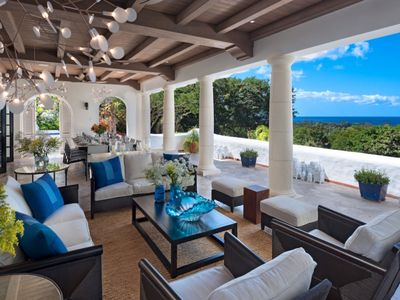Photo for Villa Elsewhere  -  Ocean View - Located in  Exquisite Sandy Lane with Private Pool