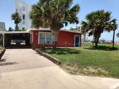 Photo for Retro Cool Beach Bungalow, Single Family Home, Private Yard, Ocean Peek Views