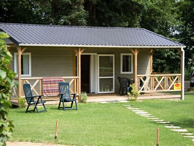 Photo for Camping Parc de Montsabert **** - Chalet 7 Persons