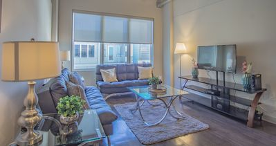 Photo for Modern Apartment in Downtown Atlanta with City Views and Gym Access