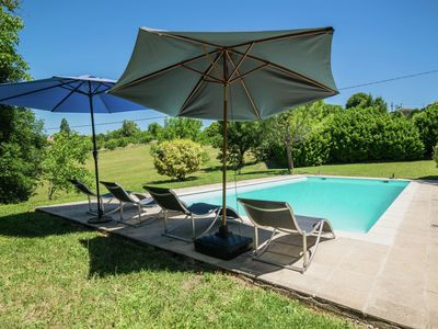 Photo for Wonderful authentic french house with private pool in a stunning location.