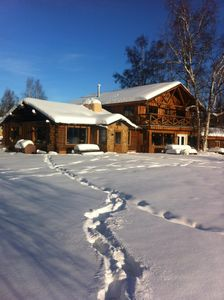 Photo for Comfortable House With Kitchen On The Chena River. Family Friendly.