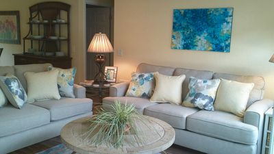 Photo for Beautiful Beach Home in Quiet Neighborhood with Ferry Access to Private Beach.