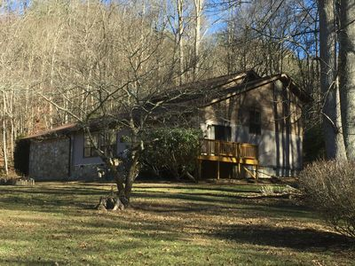 Photo for Large private home on wooded acreage