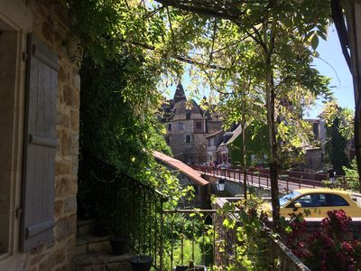 Photo for Maison La Terrasse **** and its exceptional view of the Dordogne and Carennac
