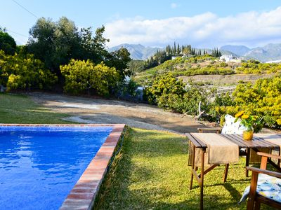 Photo for Country Home with Pool, Patio and Panoramic Views