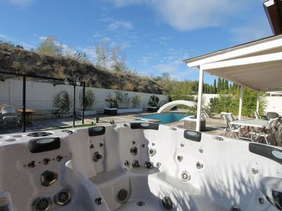 Photo for Beautiful apartment for 12 guests with private pool, A/C, WIFI, TV, pets allowed and parking