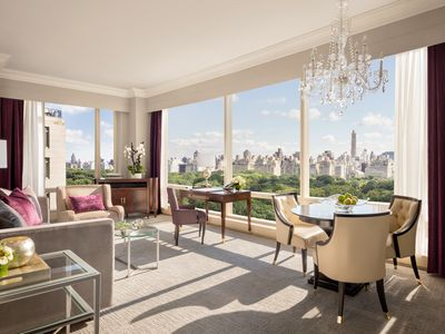 Photo for Luxury Condo Overlooking Central Park | Walk to Lincoln Center, Columbus Cir