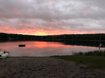 Photo for HUGE Northern MI Lodge perfect for Families & Outdoorsmen on 2 LAKES & 10 Acres!