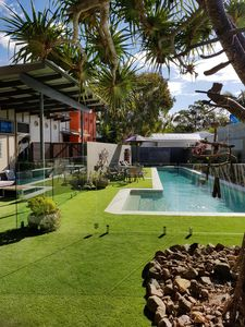 We've just completely renovated the pool and surrounding area and it is stunning