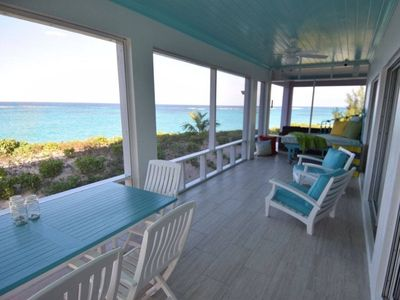 Photo for Oceanaire -- Fantastic Views, Breezes and Romance on a secluded & private beach