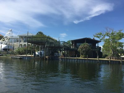 Photo for Harbor House on Canal w/ Boat Dock & Close to Beach