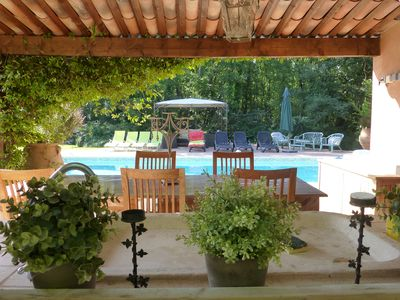 Photo for Superb villa with style an oasis of tranquility