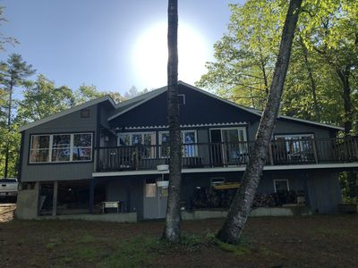 Photo for house on lake with mountain views ski and stay