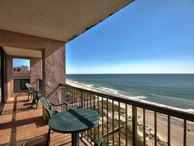 Photo for Beautiful Oceanfront 2 Bedroom Condo + Official On-Site Rental Privileges