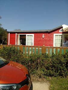 Photo for charming mobile home 42m2 washing machine area Kerlann Pont Aven